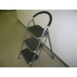 Стремянка 3-х ступ с широкими ступенями