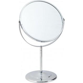 Зеркало косметическое двустороннее настольное двукратное увеличение