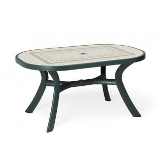 Toscana 145 зеленый Ravenna стол