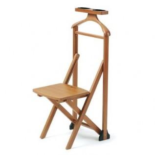 Вешалка-стул деревянная для одежды Duka