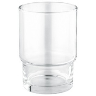 Стакан для зубных щёток (стекло) отдельно
