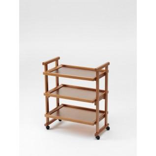 Столик сервировочный на колесиках GREGORY CHERRY (вишня)
