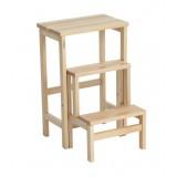 Табурет-Стремянка деревянная складная Step-3