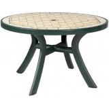 Toscana d120 зеленый Ravenna стол