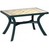 Toscana 120 зеленый Siena стол