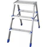 Лестница- стремянка двухсторонняя 3 ступени