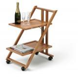 Стол сервировочный на колесиках SIMPATY CHERRY