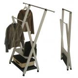 Вешалка напольная для одежды ParsiFal белая