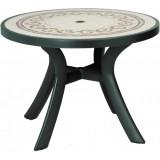 Toscana  d100 зел. Ravenna стол