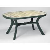 Toscana 165 зеленый Ravenna стол