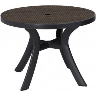 Toscana  d100 кофе  WICKER стол