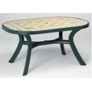 Toscana 145 зеленый Siena стол