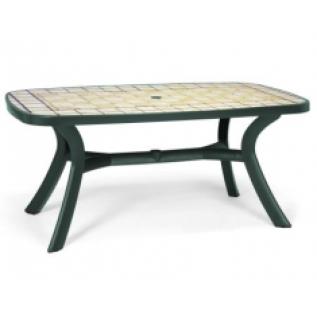 Toscana 165 зеленый Siena стол