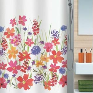 1016402 Spirella Штора для ванной комнаты Tex Campo-многоцветная 200х180 см