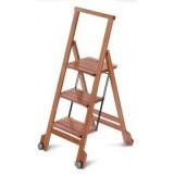 Стремянка деревянная складная BIBLIO 3