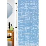 1011717 Spirella Штора для ванной комнаты TEХ GOBI- светло-голубая 240х180 см