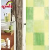 1012016 Spirella Штора для ванной комнаты Tex Tuscany-зеленая 200х180 см