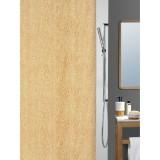 1013295 Spirella штора для ванной комнаты Tex WOOD-карамель 200х180 см