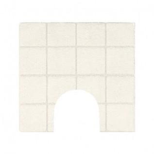 1013452 TILE Коврик Spirella для ванной комнаты Хлопок светло-бежевый 55X55 см