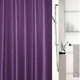 1015652 Spirella Штора для ванной комнаты Tex SHINE фиолетовая 200х180 см