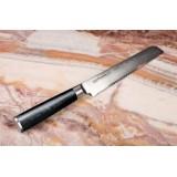 Нож кухонный Samura DAMASCUS для хлеба 200мм, G-10, дамаск 67 слоев SD-0055/G-10
