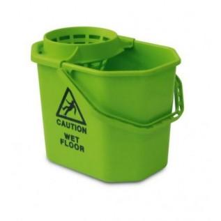 Euromop Пластиковое ведро 12 л с решеткой-отжимом для мопа 300106709