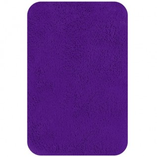 1013591 Коврик для ванной комнаты Spirella CALIFORNIA хлопок фиолетовый 60х90 см