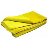 Протирочное полотенце из микрофибры желтое Siboer