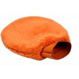 Оранжевая рукавица для чистки Siboer