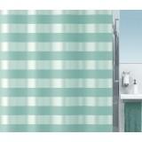 1016309 Spirella Штора для ванной комнаты Tex Scala - мята 200х180 см