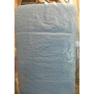 1016145 Fury Коврик для ванной комнаты полиэстр голуб, 50х80 см