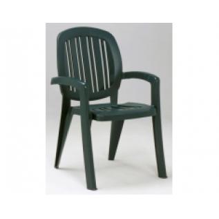 Кресло пластиковое Nardi Creta зеленое