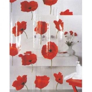 1042344 Spirella Штора для ванной комнаты Vin POPPY 200х180 см