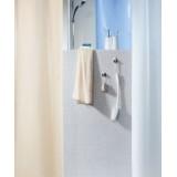 1043813 Spirella Штора для ванной комнаты Tex RICCO-голубая 200х180 см