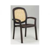 Sistina кофе вставка Rattan кресло