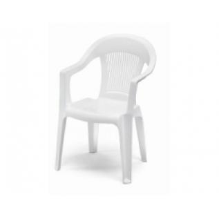 Elegant 3 белое кресло