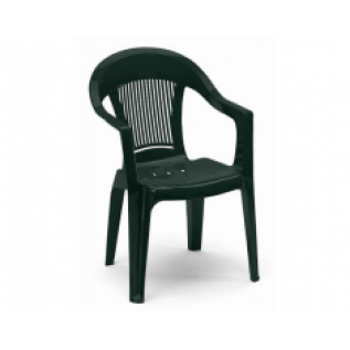 Elegant 3 зеленое кресло