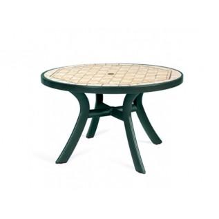 Toscana  d120 зел. Siena стол