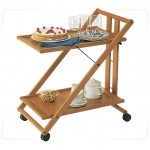 Столы сервировочные деревянные
