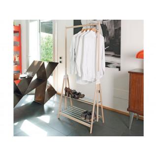 Вешалка напольная деревянная складная Stand-up