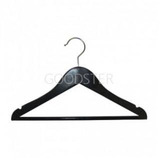 Вешалка(плечики) для одежды деревянная, черная, детская C30N-34(BLACK)