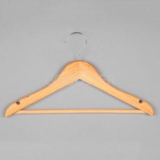 Вешалка (плечики) для одежды деревянная C30N-34(natur)