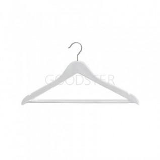 Вешалка(плечики) для одежды деревянная, белая, детская P-66B(бел)-34