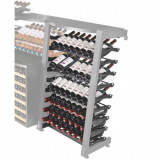 Стеллаж для хранения вина EuroCave MS1DEMI Modulosteel (1/2 колонны MS1)