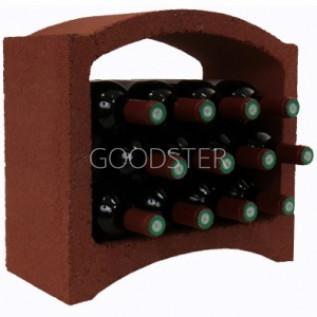 Стеллажный блок для хранения вина Le Bloc Cellier 2/3 Terre Rouge