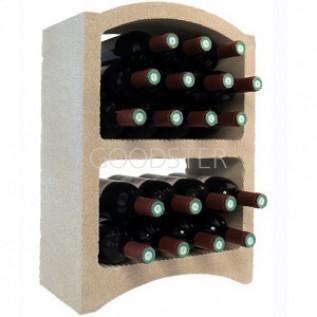 Стеллажный блок для хранения вина Le Bloc Cellier Standard Pierre Blanche